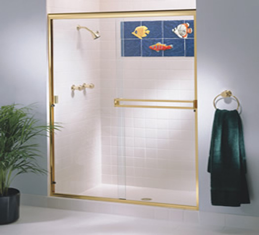Framed Sliding Shower